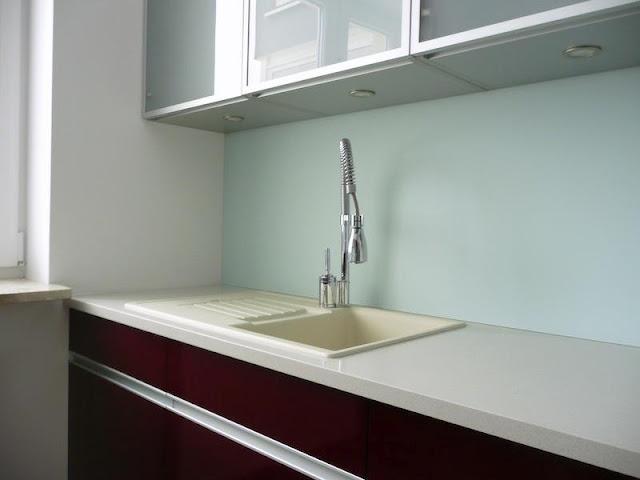 Glazen Achterwand Keuken Monteren : Glazen keukenwand – Vermeulen glaswerken